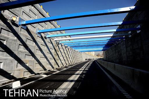 ساخت تونل-زیرگذر خیابان استاد معین