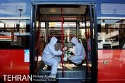 ضدعفونی تمامی اتوبوسها پیش از مسافرگیری