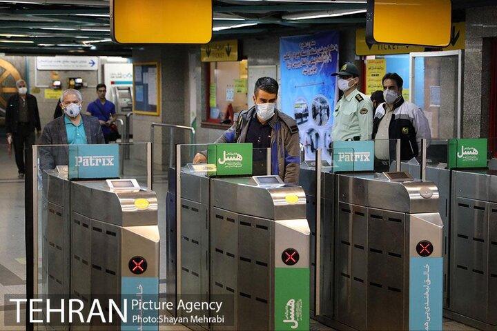 طرح جریمه «عدم استفاده از ماسک» به مترو ابلاغ نشده است