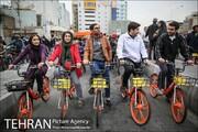 دوچرخه سواران می توانند معضل آلودگی هوای تهران را حل کنند