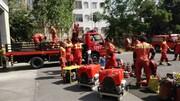 آتش نشانی احتمال حوادث بعد از زلزله مهیب تهران را بررسی کرده است