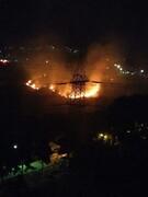 آتش سوزی بوستان کوهسار خاموش شده است