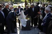 پیاده راه گذر استاد شهریار افتتاح شد