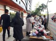 ساماندهی بیش از ۱۰ هزار دستفروش به دلیل شرایط کرونایی پایتخت