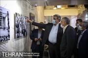 بازدید شهردار از موزه سرای شهید بهشتی
