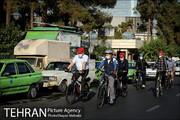 مسئولان شهری با دوچرخه به محل کار خود می روند