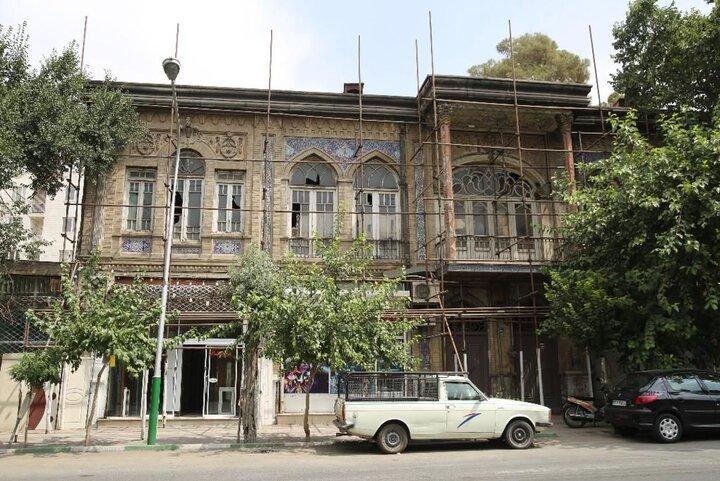عمارت قاجاری «گلستانه» تخریب نشده است