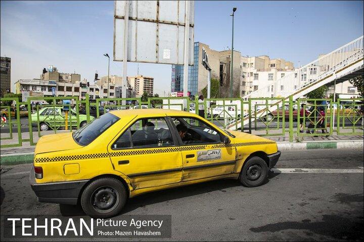 شماره گذاری و تحویل ۵ هزار تاکسی با استاندارد یورو ۴