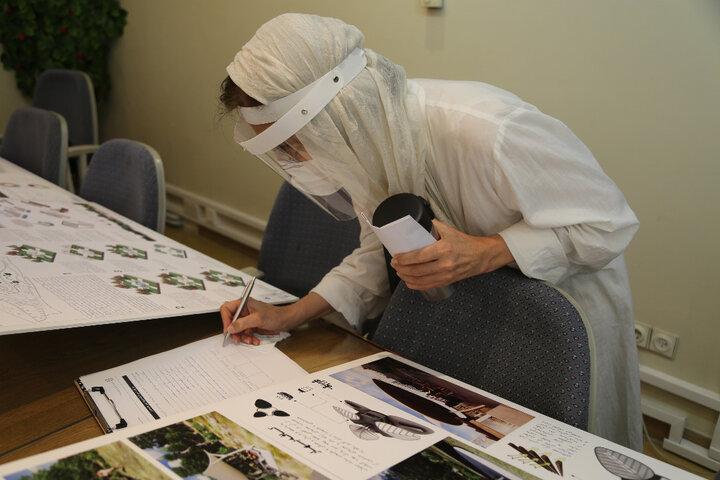 اسامی برندگان مسابقه طراحی بوستان بانوان ریحانه