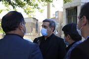 بازدید شهردار تهران از پروژه های منطقه ۱۰