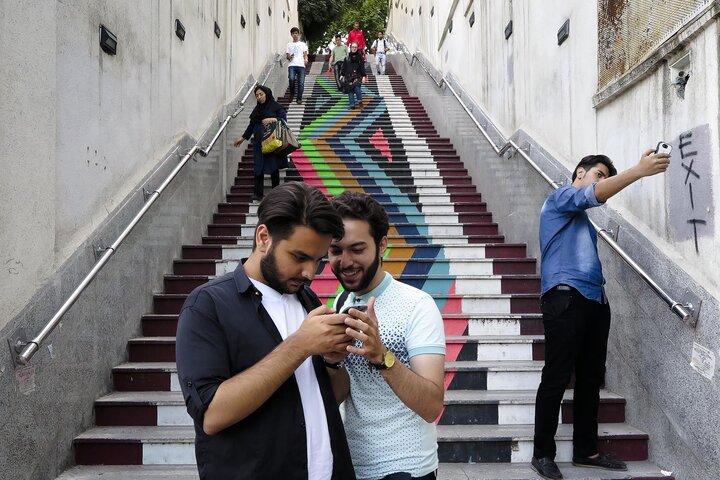 رویای تهران رنگی