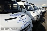 خدماترسانی ۱۴۱ دستگاه اتوبوس و وَن ویژه به ۴ هزار جانباز و معلول پایتخت