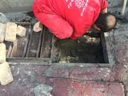 چاه های غیرمجاز معابر منطقه ۳ مسدود شد