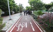 ساخت ۲۵۰۰ مترمربع مسیر سبز دوچرخهسواری