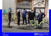 سرکشی دوچرخه ای شهردار منطقه ۱۷ به پروژه های عمرانی