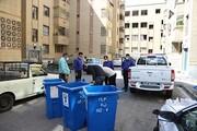 حذف ۲۰۵ مخزن زباله از معابر منطقه ۱۶