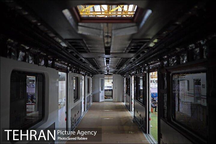 تولید ۱۳ رام قطار مترو با طراحی جدید ۸ واگن