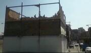 رفع خلاف از ساخت و ساز غیر مجاز در بزرگراه آزادگان