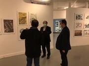 روح تهران در نمایشگاه تهران از منظر هنرمندان به نمایش در آمد