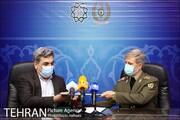 تفاهمنامه همکاری میان وزارت دفاع و پشتیبانی نیروهای مسلح و شهرداری تهران امضا شد