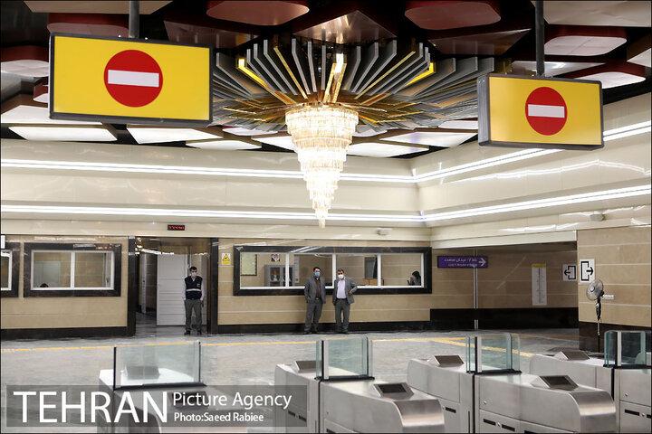 تغییر نام ایستگاه مترو بیمارستان امام خمینی(ره) به مدافعان سلامت