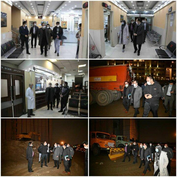 نیازمند مشارکت شهروندان در کنار نیروهای عملیاتی شهرداری در هنگام بارش برف هستیم
