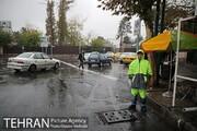 هیچگونه آب گرفتگی و یخ زدگی در تهران گزارش نشده است