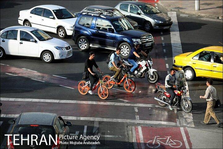 پیمایش ۲۴۱۵۸ کیلومتر مسیر با دوچرخه در اسفند ۱۳۹۹