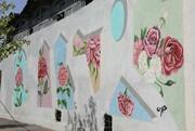 ۲۷ هزار متر مربع نقاشی دیواری و رنگ آمیزی پوششی در منطقه۱۳