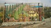 دیارگاه تیناز با درختهای کهنسال به زودی آماده بهره برداری می شود