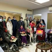 حضور مدیرعامل سازمان بهشت زهرا در آسایشگاه معلولان باغ فرشته