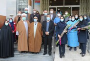 تجلیل از پرستاران بیمارستان شهدای گمنام در منطقه ۱۵