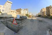 پیشرفت ۵۰ درصدی عملیات ساخت پارکینگ طبقاتی امیرکبیر