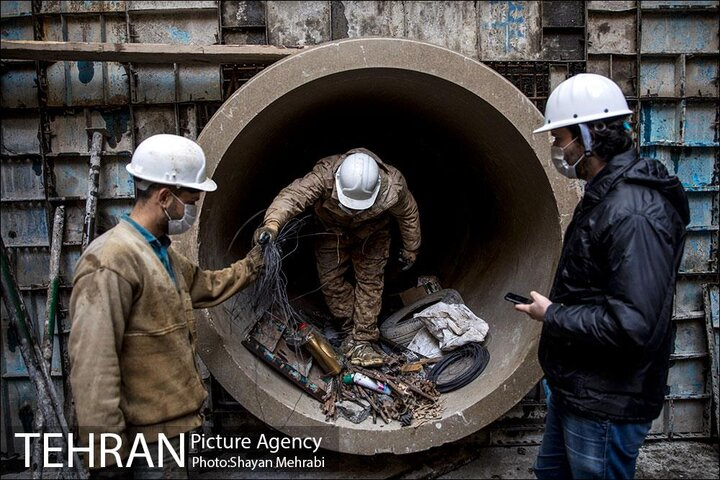 ساخت کانال کمکی سرخه حصار تا بازسازی قدیمیترین کانال تهران