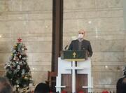 برگزاری مراسم آیینی مذهبی ولادت حضرت مسیح در منطقه ۶