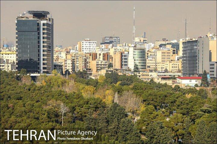 دمای هوای تهران افزایش می یابد