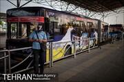 تبلیغات روی اتوبوسهای شهری، درآمدی پایدار برای شرکت واحد است