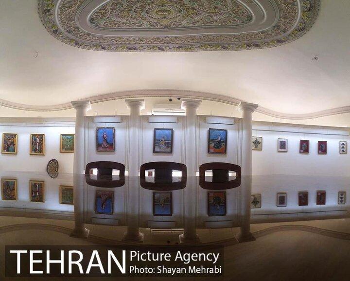 موزه نقاشی پشت شیشه
