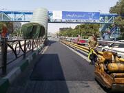 پخش ۶۹۷۲ تن آسفالت برای بهسازی مسیر اتوبوسهای تندرو