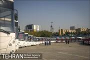 ورود ۴۰ دستگاه اتوبوس و مینیبوس به خیابان های شهر