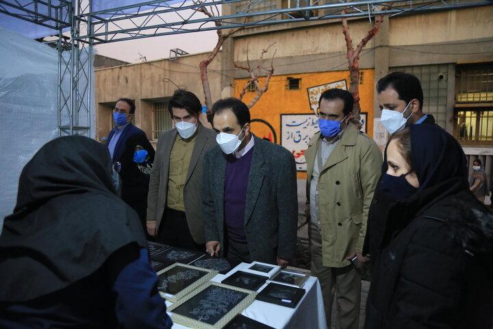 دستسازههای مادران شهر تهران در قلب طهران