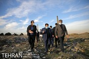بازدید شهردار تهران از پروژه های منطقه ١٩