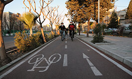 ادامه توسعه مسیر ایمن دوچرخهسواری در سال ١۴٠٠