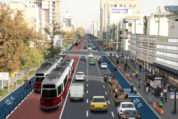 تغییر چهره شهر با خیابان کامل