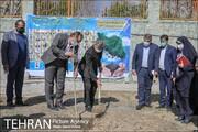 آیین کاشت ۶۲ نهال به یاد ۶۲ همکار جانباخته کرونایی شهرداری تهران