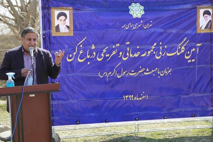 سالاری: دژباغ کن الگویی برای حفظ میراث باغات تهران است