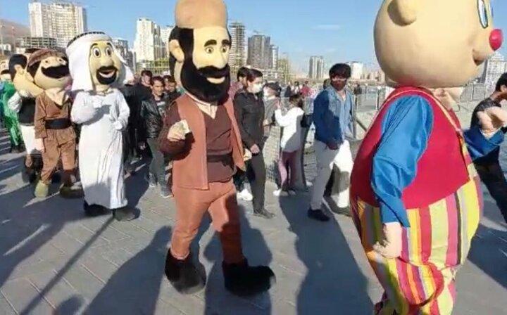جشن رمضان با برگزاری کارناوال های شادی در محلات محروم
