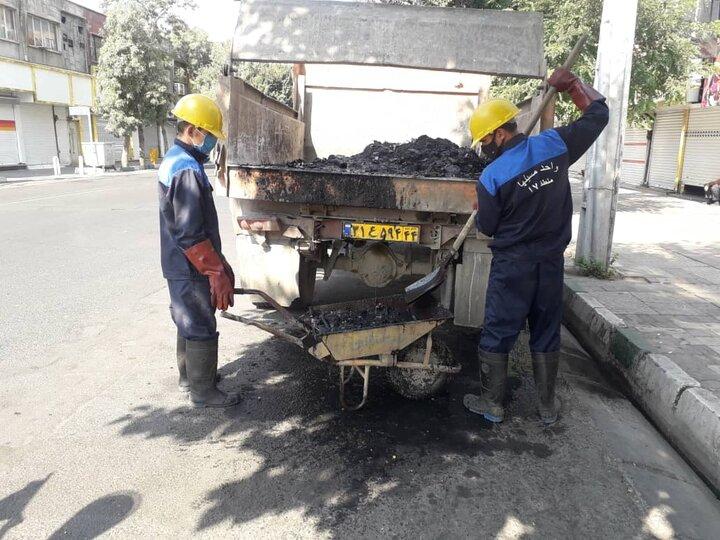 اجرای طرح آخر هفته نگهداشت شهر در منطقه۱۷