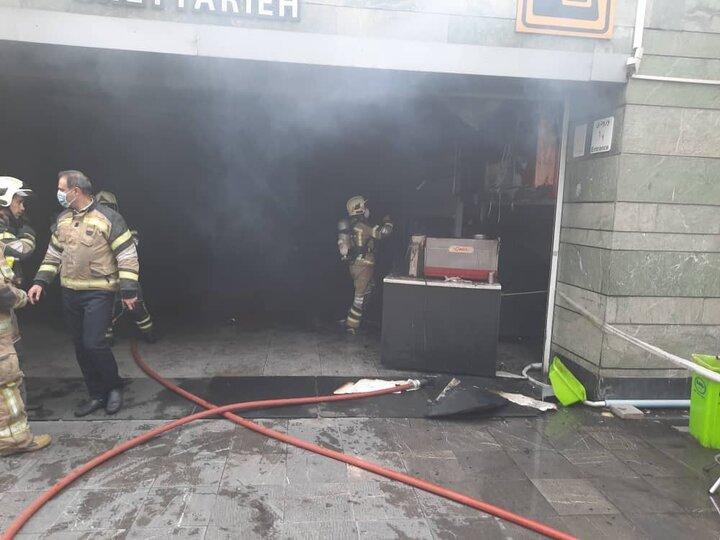 علت آتش سوزی متروی قیطریه مشخص شد