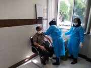 تزریق واکسن کرونا به پاکبانان منطقه ۱۴